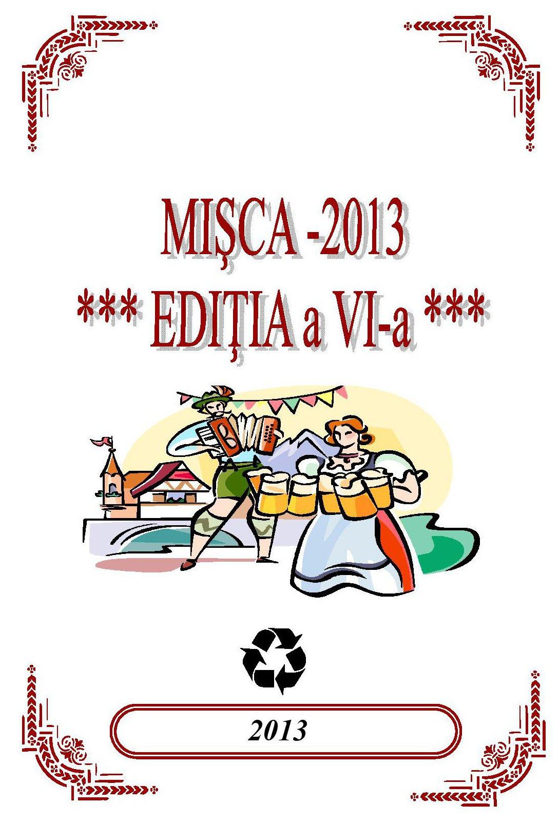 Zilele Comunei Misca – editia 2013